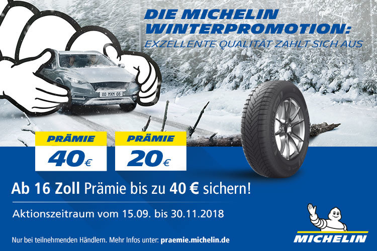 Michelin Winterpromotion 2018